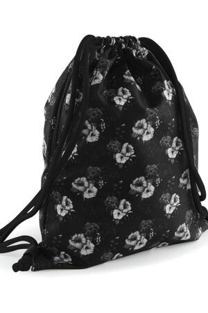 Graphic Drawstring Backpack